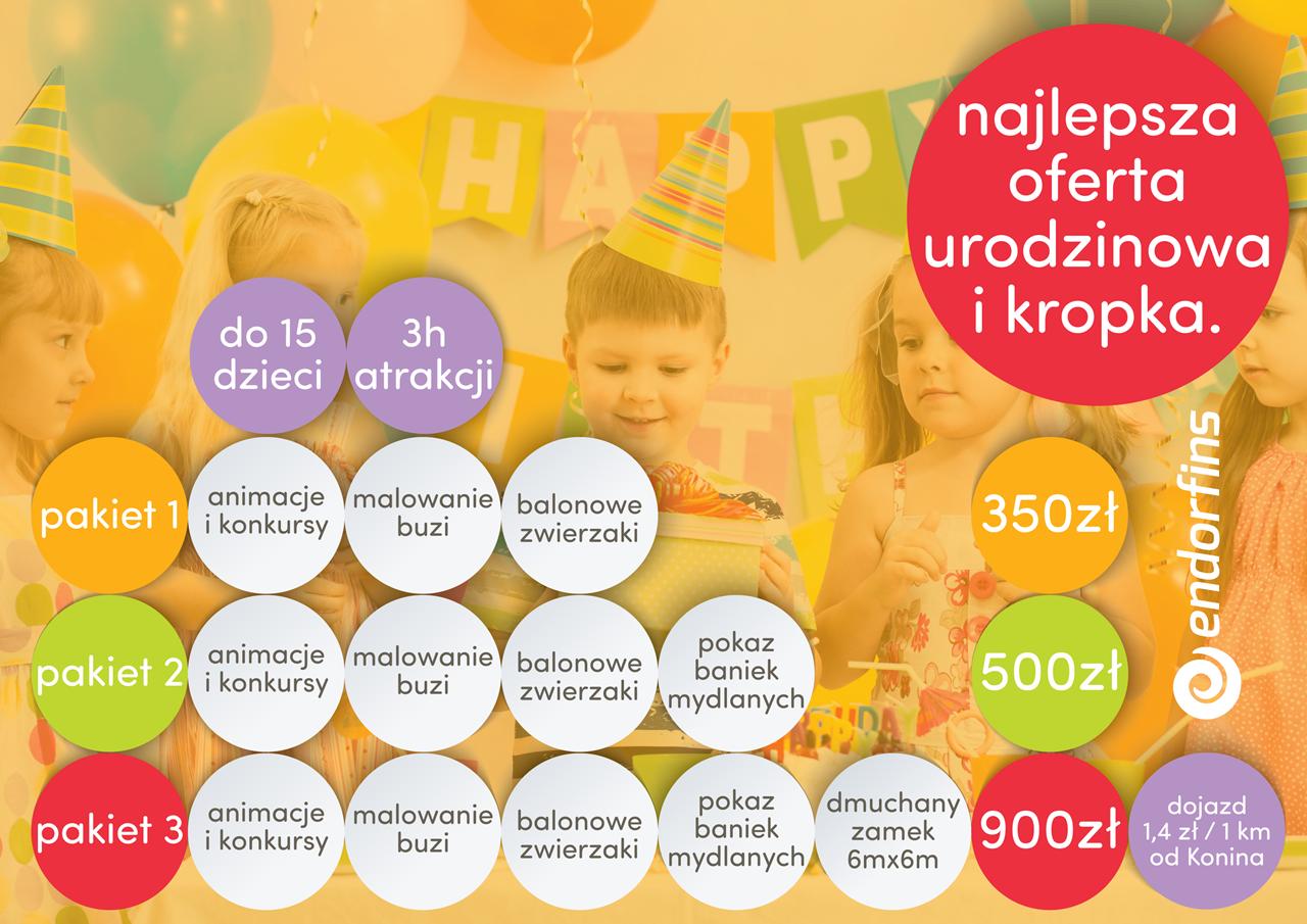 organizacja urodzin dla dzieci, iprezy urodzinowe dla dzieci konin, łódź, poznań