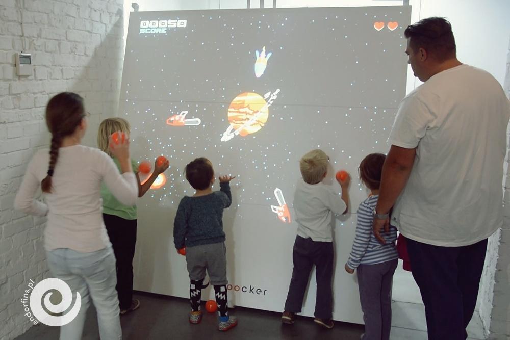 interaktywna gra kontrolowana za pomocą piłki - poznań, łódź, warszawa