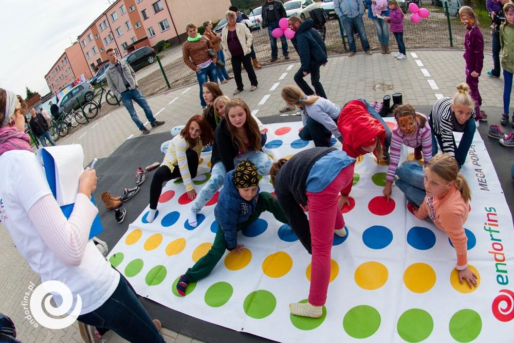 gry wielkoformatowe - imprezy dla dzieci