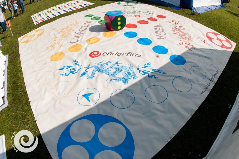 team building duża gra chińczyk do gry na piknikach warszawa