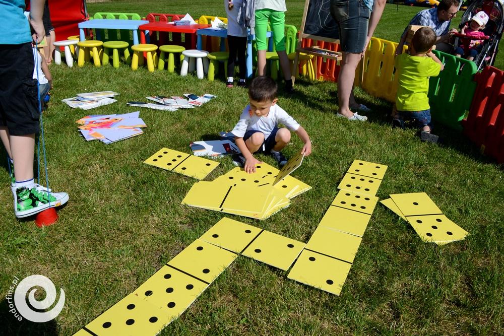 wielkie domino dla dzieci