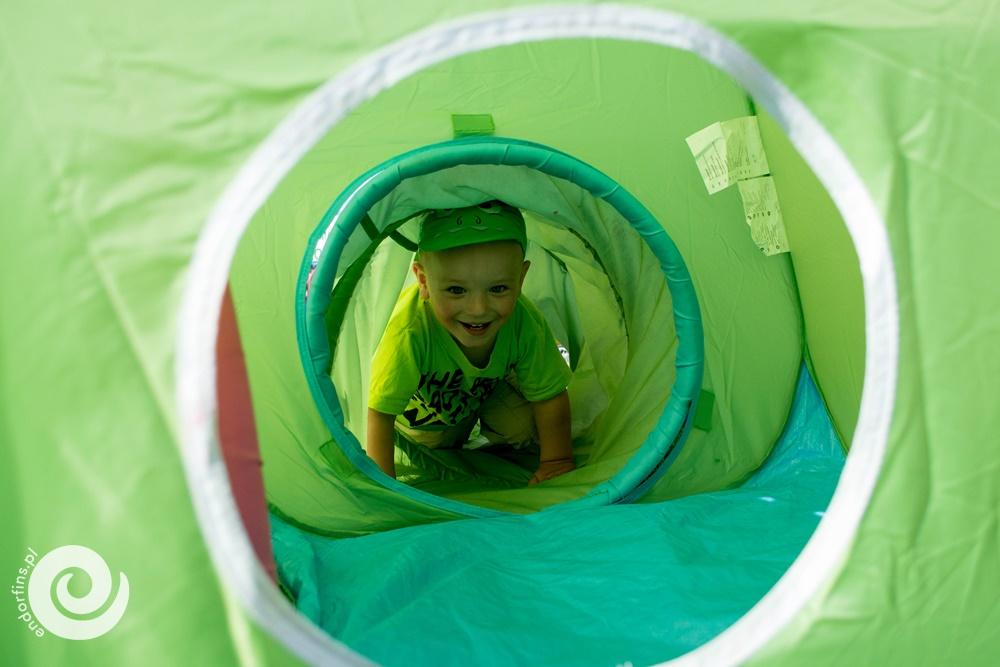 tunel animacyjny dla dzieci