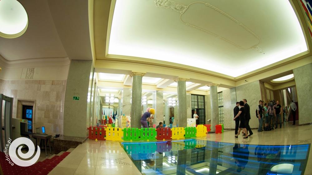 strefa animacji w kancelarii premiera