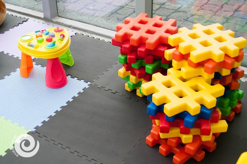 miejsce zabaw i animacji dla najmniejszych dzieci podczas imprez