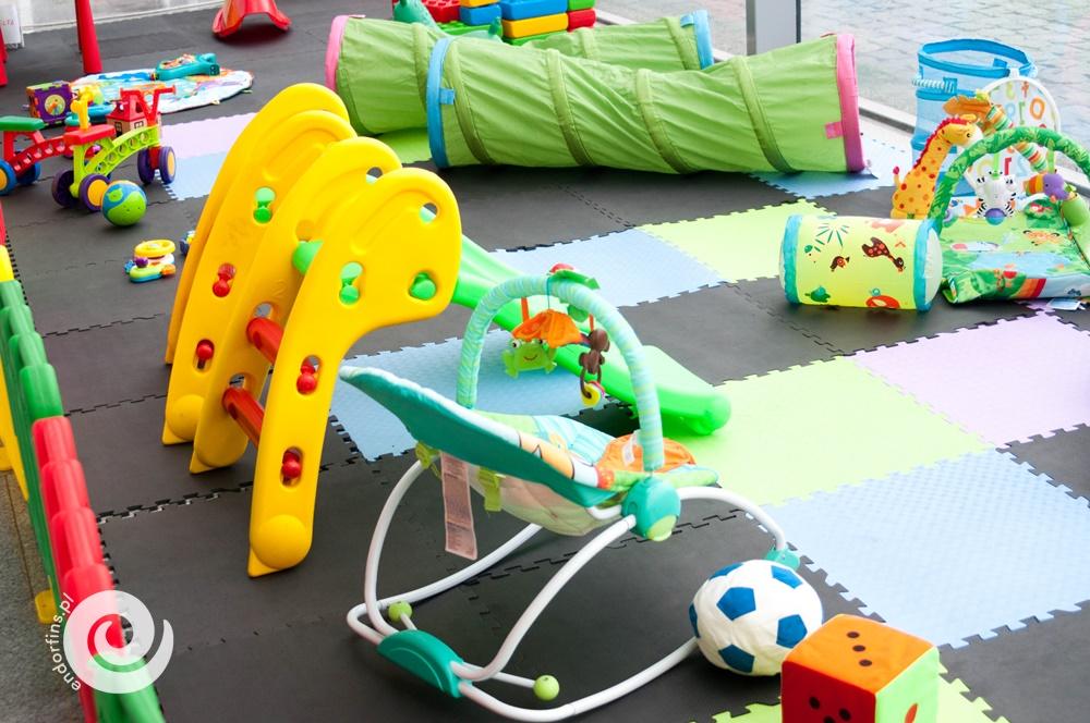atrakcje dla małych dzieci podczas imprez - kącik dla najmłodszych