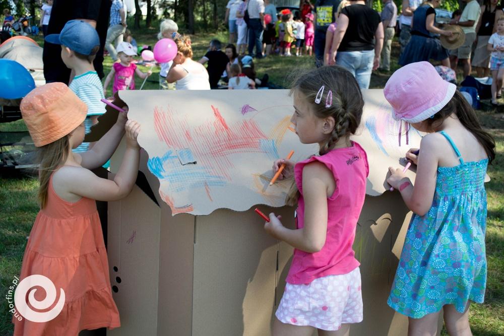 kartonowy domek do malowania piknik firmowy poznań, łódź, warszawa