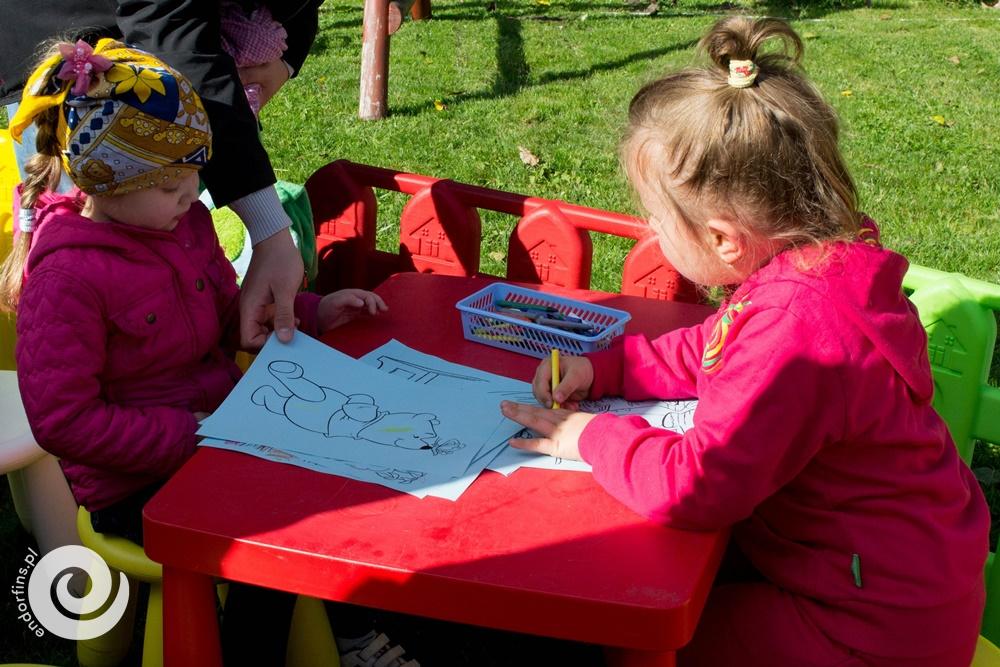 malowanka dla małych dzieci na piknik firmowy