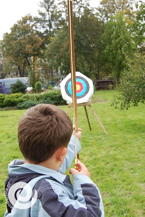 strzelanie z łuku dla dzieci i dorosłych