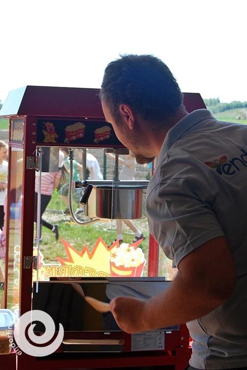 popcorn - otwarcie placu zabaw