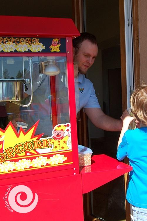 wynajem maszyny do popcornu