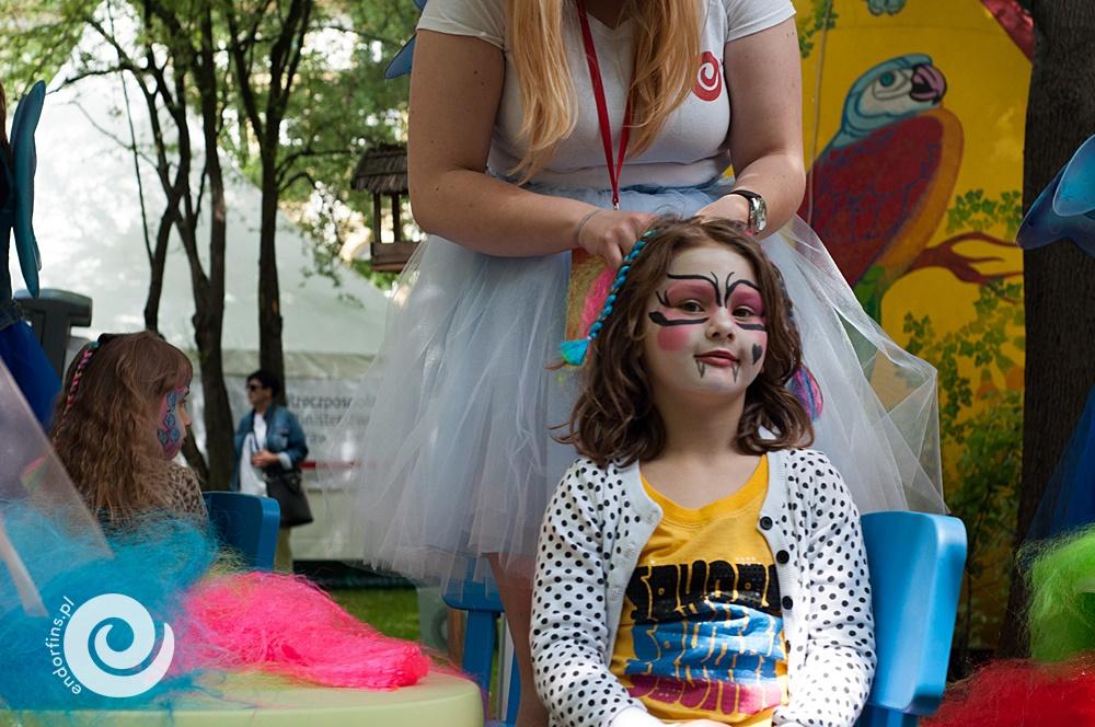 kolorowe warkoczyki - organizacja imprez dla dzieci poznań