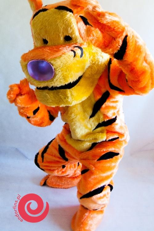 postać tygrysek - wynajem żywych maskotek warszawa